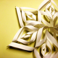 Beautiful Paper Snowflake