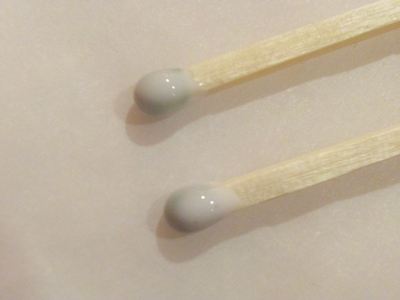 How to make a dangle earring. Matchstick Earrings - Step 2