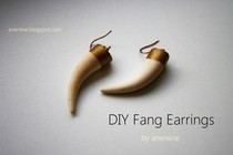Diy Fang Earrings