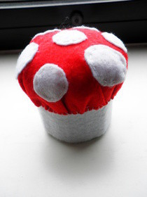 Mushroom Pin Cushion 