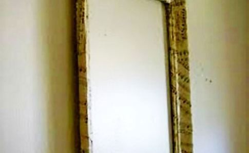 Vintage Sheet Music Wooden Frame
