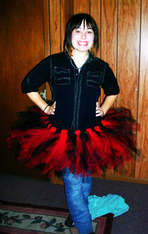 Black Angel Tutu Outfit