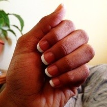 French Tip (For Short Nails)