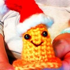 Learn How to Crochet Easy Santa Hat Elf Pixie Beanie for
