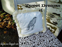 Pretty Bird Pillow