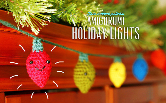 Amigurumi Holiday Lights