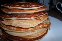American Pancakes From Russia:)