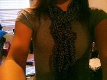 Easy Knotted Scarf