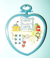 """Home Sweet Home"" Cross Stitch"
