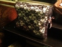 Lacey Reversible Sewing Machine Cover