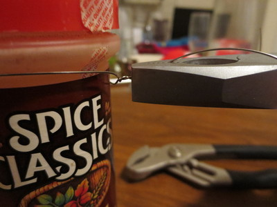 How to make a kitchen project / dining project. Refrigerator Spice Rack - Step 3