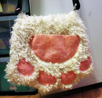 Kitty Paw Purse