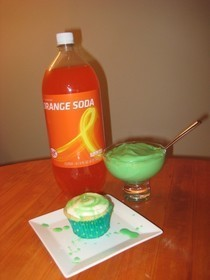 "Nickelodeon ""Slime"" Cupcakes"