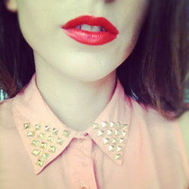 Diy Studded Fashion Collar