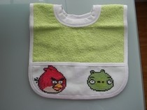 Angry Birds Bib