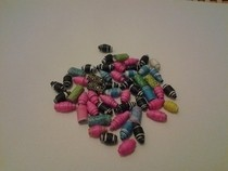 My Random Lot Of Paper Beads