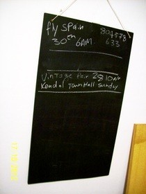 Diy: Blackboard Project