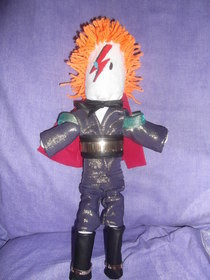 Ziggy Stardust Rag Doll