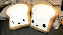 Toast Plush Pillow