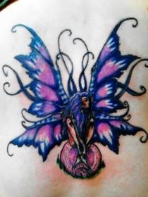 Amy Brown Fairy Tattoo