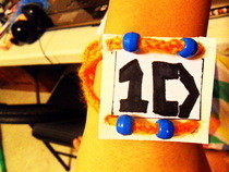One Directioner Bracelet