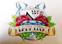 All That Luck! Drawing