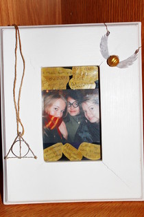 Harry Potter Themed Picture Frame