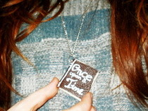 Mini Book Necklace