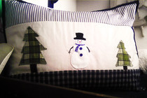 Diy Pottery Barn Snow Man Pillow