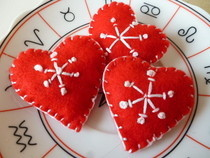 Scandi Inspired Heart Brooch