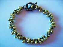 Gold Bead Bracelet