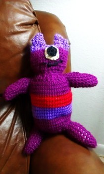 Crochet One Eyed Monster