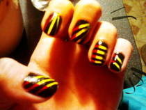 Rasta Nails