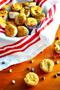 Mini Banana Almond Flour Muffins