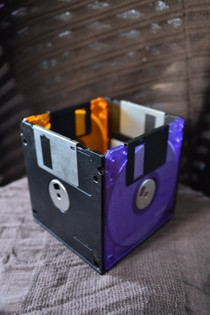 Floppy Disc Container