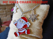 Diy Christmas Charm Bracelet
