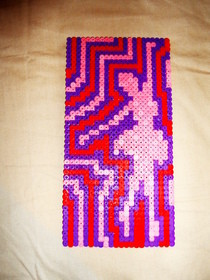 Ballet Dancer In Hama Beads