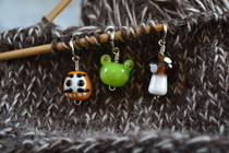 Pond Land Stitch Markers