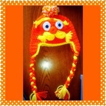 Crochet Lorax Beanie Hat 
