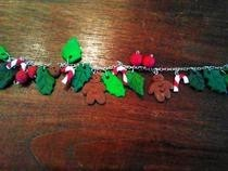 Christmas Fimo Bracelet