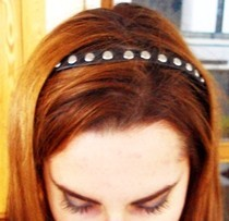 Studded Headband.