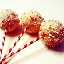 Starbucks Peppermint Brownie Cake Pops