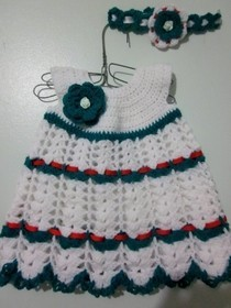 Babies First Christmas Dress