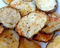 Homemade Microwave Potato Chips