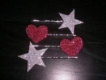 Glitter Hair Pins