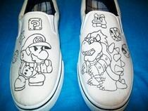 Paper Mario Shoes