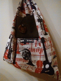 Drawstring Bag (With Pocket!) 