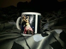 Gwen Stefani Mug/Make Up Holder