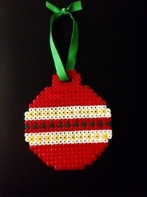 Hama Bead Christmas Bauble