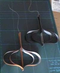 How to make a paper model. Ornaments With Paper Strips - Step 6